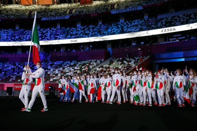 Lễ khai mạc Olympic Tokyo 2020: Rực rỡ sắc màu, mang nhiều thông điệp ý nghĩa - Ảnh 17.