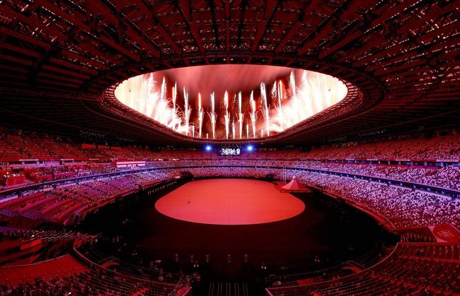 Lễ khai mạc Olympic Tokyo 2020: Rực rỡ sắc màu - Ảnh 3.