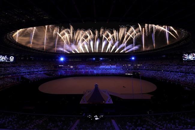 Lễ khai mạc Olympic Tokyo 2020: Rực rỡ sắc màu - Ảnh 4.