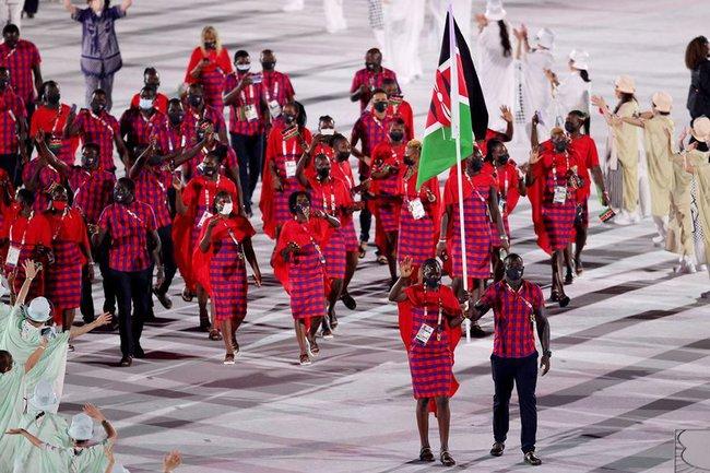 Lễ khai mạc Olympic Tokyo 2020: Rực rỡ sắc màu, mang nhiều thông điệp ý nghĩa - Ảnh 20.