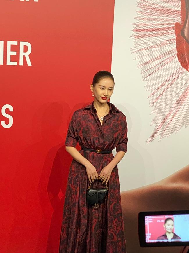 """Thảm đỏ nóng nhất Cbiz tối nay: Triệu Lệ Dĩnh đẹp lấn lướt """"đệ nhất mỹ nhân Bắc Kinh"""" Cảnh Điềm - Ảnh 10."""