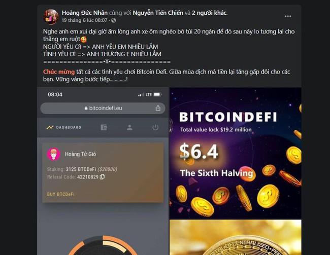 """Thủ lĩnh đa cấp tiền số BitcoinDeFi bất ngờ """"mất sóng"""", DJ nổi tiếng xóa bài đăng quảng cáo - Ảnh 3."""