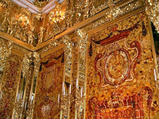"""Bí ẩn căn phòng vàng chứa hổ phách trị giá nghìn tỷ đồng """"không cánh mà bay"""" - Ảnh 4."""