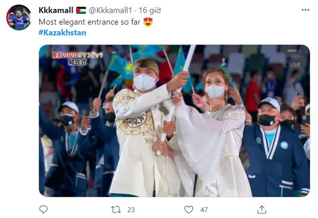 """""""Nữ thần"""" hot nhất tại Lễ khai mạc Olympic Tokyo 2020 khiến MXH phát sốt, phải truy tìm danh tính - Ảnh 2."""