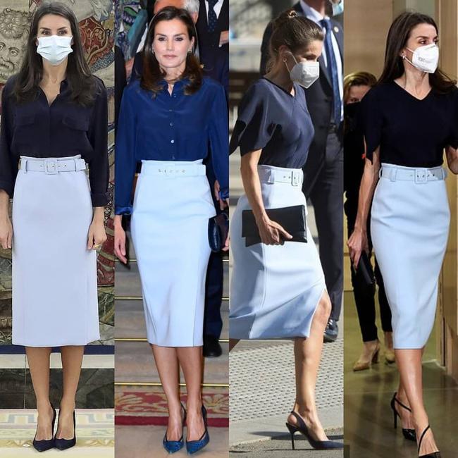 """Ngoài Kate ra, còn có một nhân vật Hoàng gia chuyên diện lại đồ cũ, mỗi lần lại là một """"phiên bản"""" khác nhau hoàn toàn - Ảnh 2."""