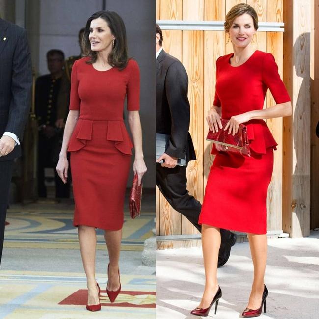 """Ngoài Kate ra, còn có một nhân vật Hoàng gia chuyên diện lại đồ cũ, mỗi lần lại là một """"phiên bản"""" khác nhau hoàn toàn - Ảnh 7."""