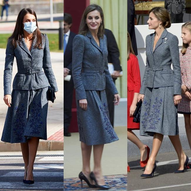 """Ngoài Kate ra, còn có một nhân vật Hoàng gia chuyên diện lại đồ cũ, mỗi lần lại là một """"phiên bản"""" khác nhau hoàn toàn - Ảnh 9."""