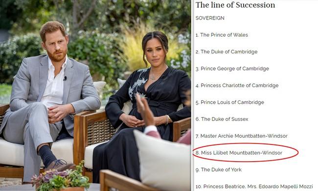 Hoàng gia Anh chính thức có câu trả lời về việc phân biệt đối xử với con gái Meghan Markle - Ảnh 1.