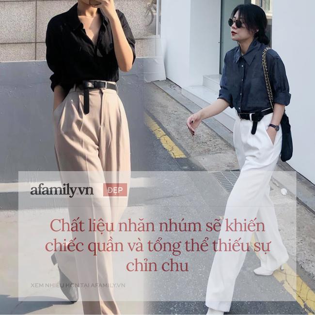 """Mê quần ống rộng đến mức có tới 10 chiếc trong tủ, cô nàng du học sinh Hàn Quốc chỉ ngay chiêu mặc đẹp """"quên xầu"""" ngay cả với nàng thấp bé - Ảnh 3."""