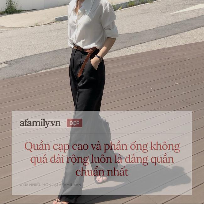 """Mê quần ống rộng đến mức có tới 10 chiếc trong tủ, cô nàng du học sinh Hàn Quốc chỉ ngay chiêu mặc đẹp """"quên xầu"""" ngay cả với nàng thấp bé - Ảnh 4."""