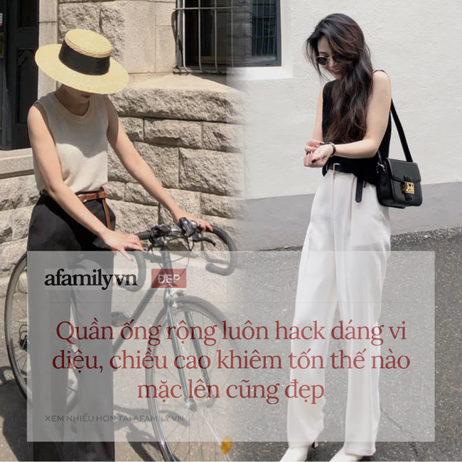 """Mê quần ống rộng đến mức có tới 10 chiếc trong tủ, cô nàng du học sinh Hàn Quốc chỉ ngay chiêu mặc đẹp """"quên xầu"""" ngay cả với nàng thấp bé - Ảnh 5."""