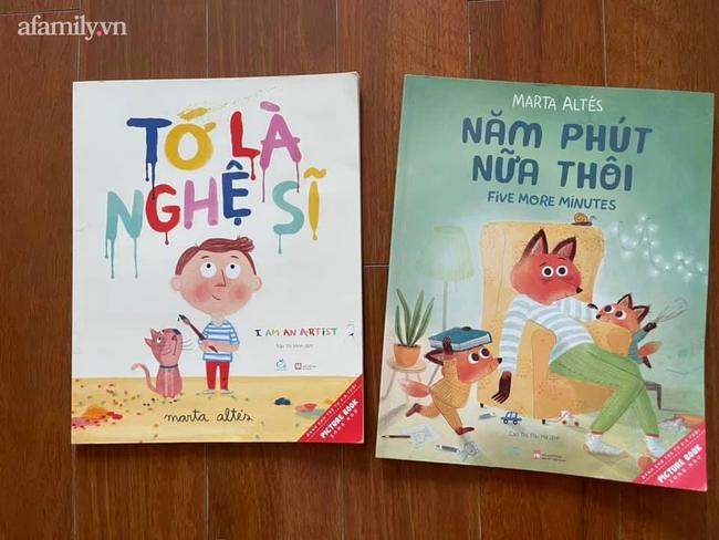 Nghiêm khắc với con vì chúng vẽ nguệch ngoạc lên tường, mẹ trẻ Hà thành nhận ra sai lầm lớn của mình khi đọc xong hai cuốn sách này cùng con - Ảnh 3.
