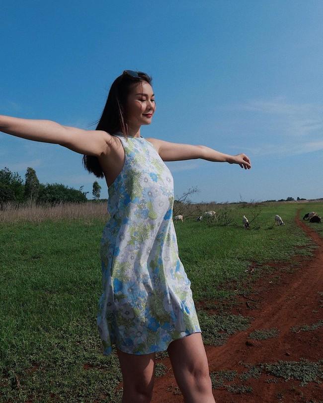 Sao Việt đọ vai đẹp, da mướt khi đua nhau diện mẫu váy này - Ảnh 4.