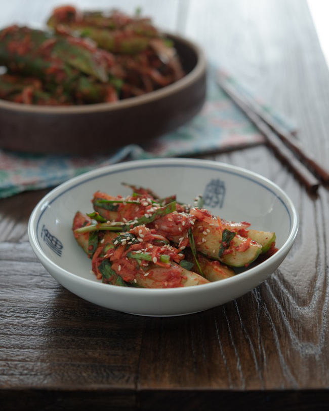 Mách bạn cách làm kim chi dưa chuột chuẩn vị Hàn ăn kèm món gì cũng ngon - Ảnh 11.