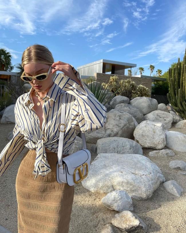Mỹ nhân Hollywood diện áo sơ mi theo cách thoải mái, đơn giản nhưng sành điệu 100 điểm - Ảnh 9.