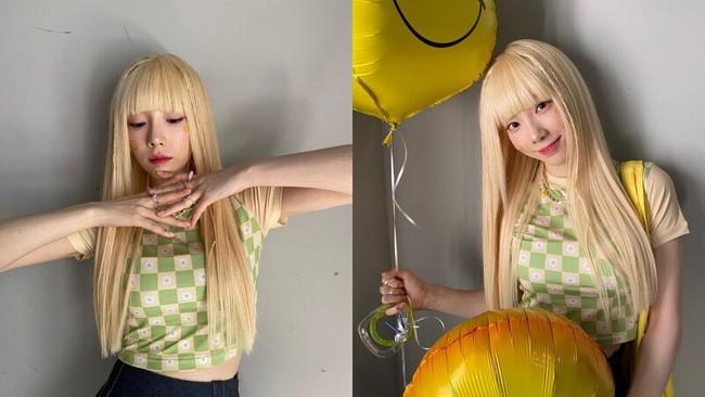 """34 tuổi mới """"thèm"""" nhuộm tóc chất chơi, Dương Mịch giống Taeyeon như tạc - Ảnh 6."""