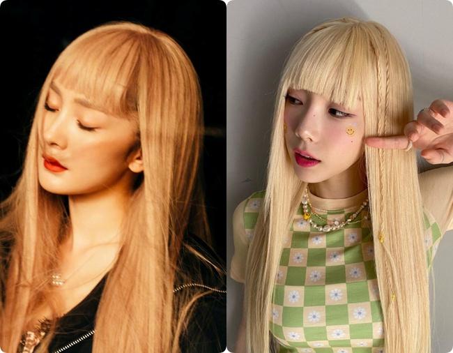 """34 tuổi mới """"thèm"""" nhuộm tóc chất chơi, Dương Mịch giống Taeyeon như tạc - Ảnh 9."""