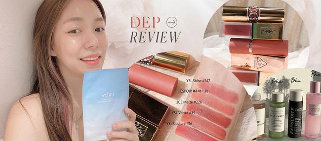 """Cô nàng da hỗn hợp thử cushion kiềm dầu mà Kim Yoo Jung quảng cáo: Ngoài lớp nền căng mướt thì """"giao diện"""" sang chảnh nhìn thích mê - Ảnh 8."""