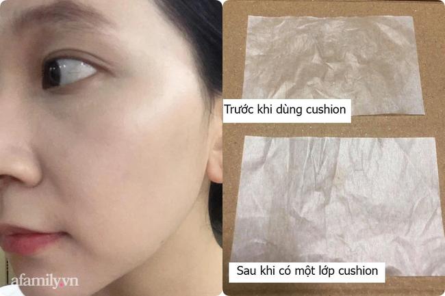 """Cô nàng da hỗn hợp thử cushion kiềm dầu mà Kim Yoo Jung quảng cáo: Ngoài lớp nền căng mướt thì """"giao diện"""" sang chảnh nhìn thích mê - Ảnh 7."""
