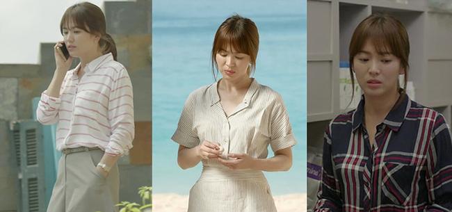 Trên phim, Song Hye Kyo diện áo sơ mi luôn xuất sắc chứ không đẹp xấu thất thường như ngoài đời - Ảnh 2.