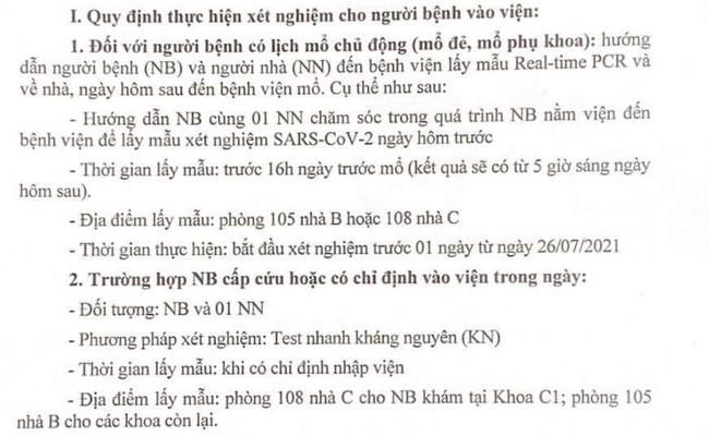 Hành trang vượt cạn mùa Covid tại bệnh viện Phụ sản Hà Nội, mẹ lưu ngay kẻo lỡ - Ảnh 5.