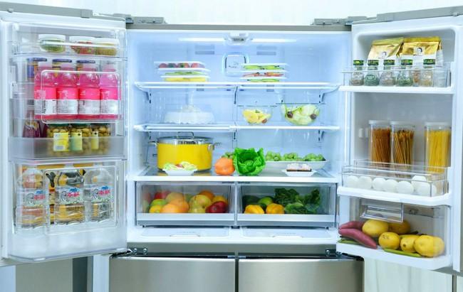 Mẹo cơ bản để tận dụng tối đa không gian tủ lạnh để  lưu  trữ  thực  phẩm - Ảnh 1.