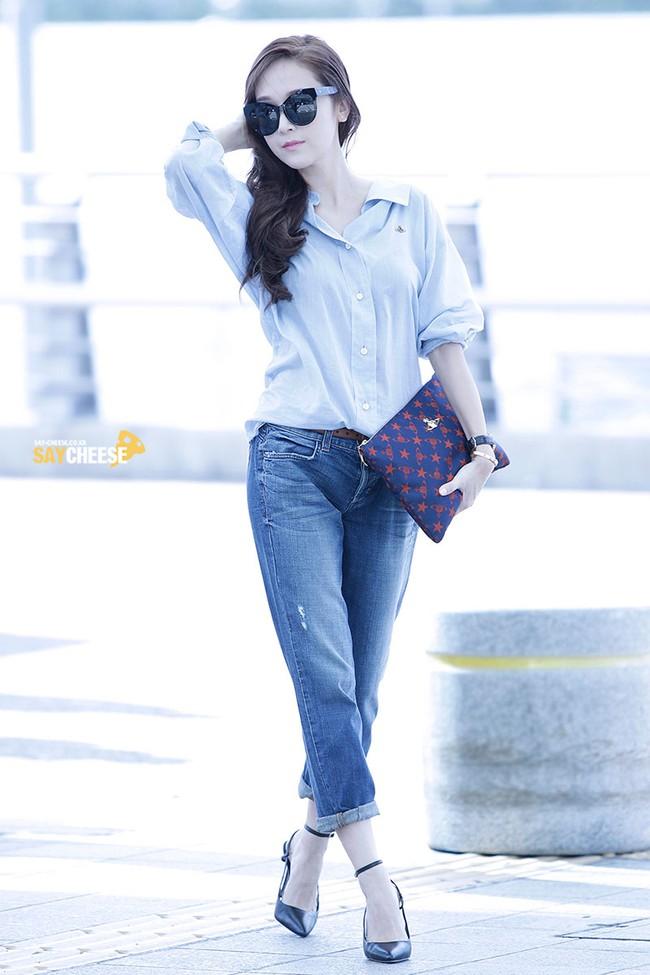 Cao thủ mặc đẹp như Jessica cũng mắc 2 lỗi diện quần jeans cơ bản khiến chân ngắn đi, vẻ ngoài bị lạc mốt - Ảnh 4.