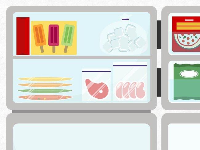 Mẹo cơ bản để tận dụng tối đa không gian tủ lạnh để  lưu  trữ  thực  phẩm - Ảnh 6.