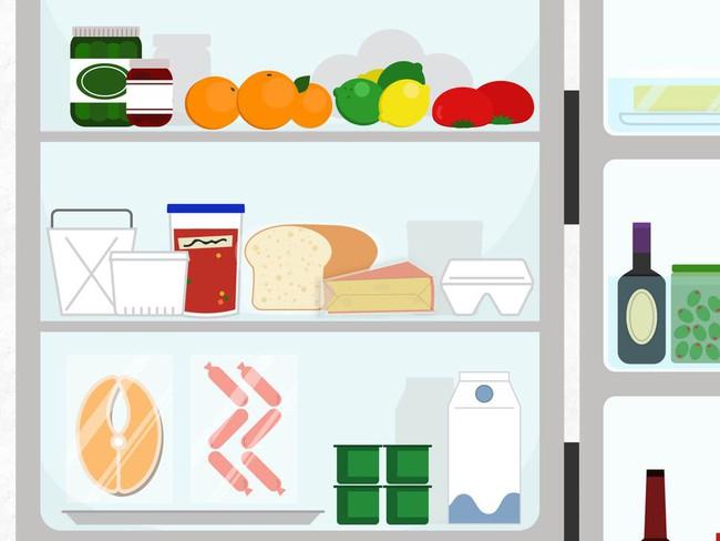 Mẹo cơ bản để tận dụng tối đa không gian tủ lạnh để  lưu  trữ  thực  phẩm - Ảnh 3.
