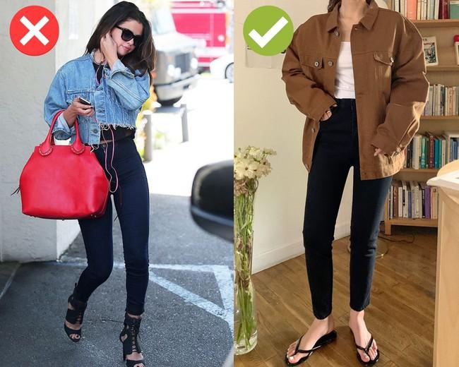 4 món thời trang không nên mix cùng quần skinny jeans: Diện lên lỗi mốt trầm trọng, dễ tố sạch nhược điểm vóc dáng - Ảnh 4.