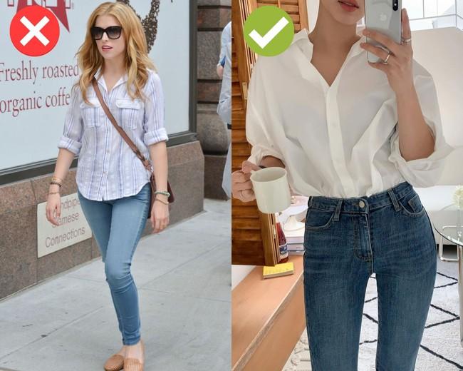 4 món thời trang không nên mix cùng quần skinny jeans: Diện lên lỗi mốt trầm trọng, dễ tố sạch nhược điểm vóc dáng - Ảnh 2.
