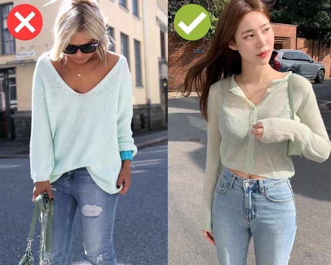 4 món thời trang không nên mix cùng quần skinny jeans: Diện lên lỗi mốt trầm trọng, dễ tố sạch nhược điểm vóc dáng - Ảnh 5.