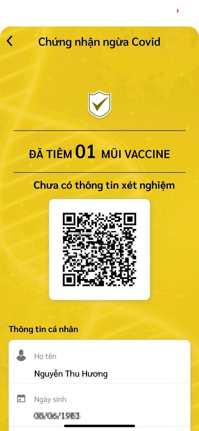 Sử dụng sổ sức khỏe điện tử để biết được tình trạng tiêm chủng COVID-19: Tiêm 1 mũi có chứng nhận màu vàng, 2 mũi có chứng nhận màu xanh - Ảnh 4.