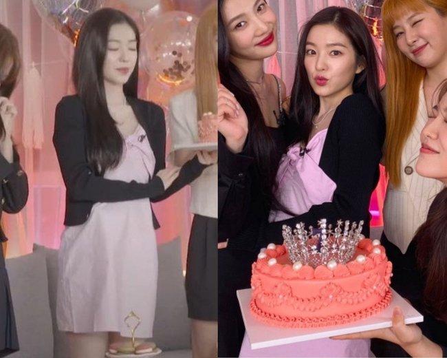 Váy người mẫu diện đang xinh, Irene mặc lại thành bị dìm dáng và trông như váy ngủ - Ảnh 5.