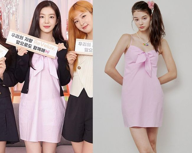 Váy người mẫu diện đang xinh, Irene mặc lại thành bị dìm dáng và trông như váy ngủ - Ảnh 8.