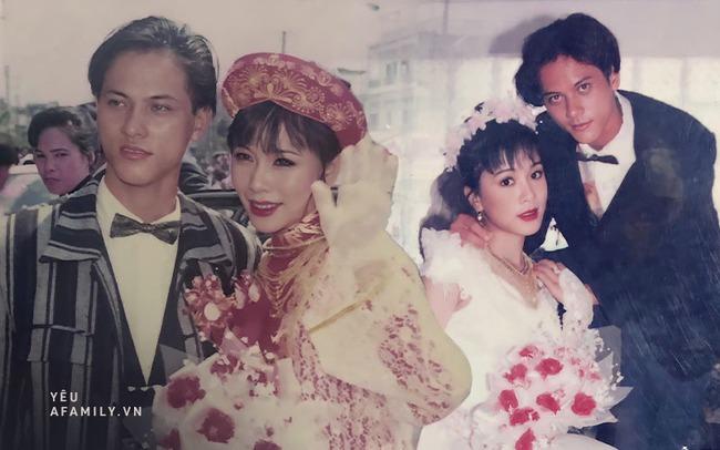 Bộ ảnh cưới cách đây 23 năm của cặp đôi vợ chồng đẹp như diễn viên: Đồng ý yêu từ cấp 2 với điều kiện ngược đời, nhan sắc cô dâu hiện tại gây choáng! - Ảnh 2.