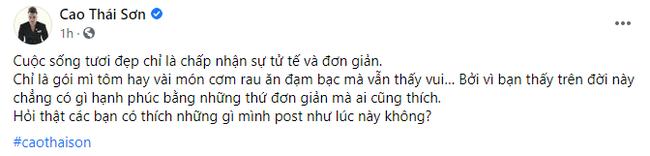 Cao Thái Sơn thực hiện cách ly sau khi từ Mỹ trở về Việt Nam - Ảnh 2.