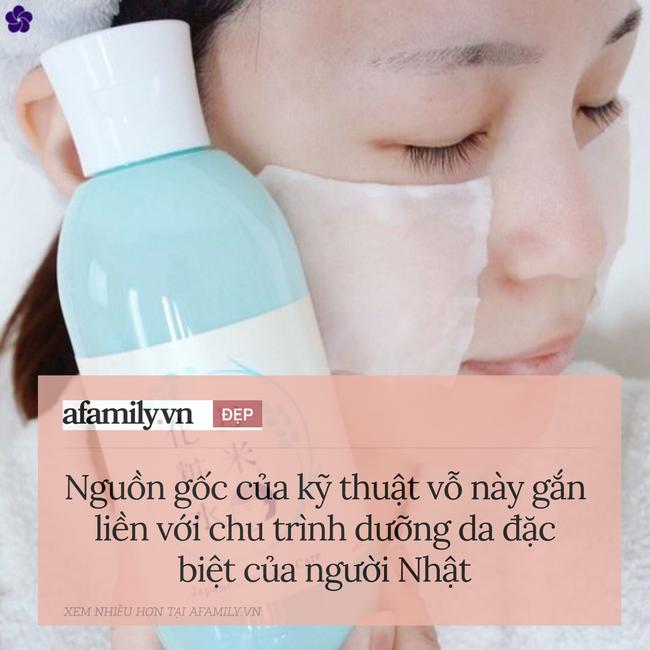 Người Nhật chỉ ra lý do tại sao khi dưỡng da, bạn nên vỗ sản phẩm thay vì xoa hay chà xát - Ảnh 3.
