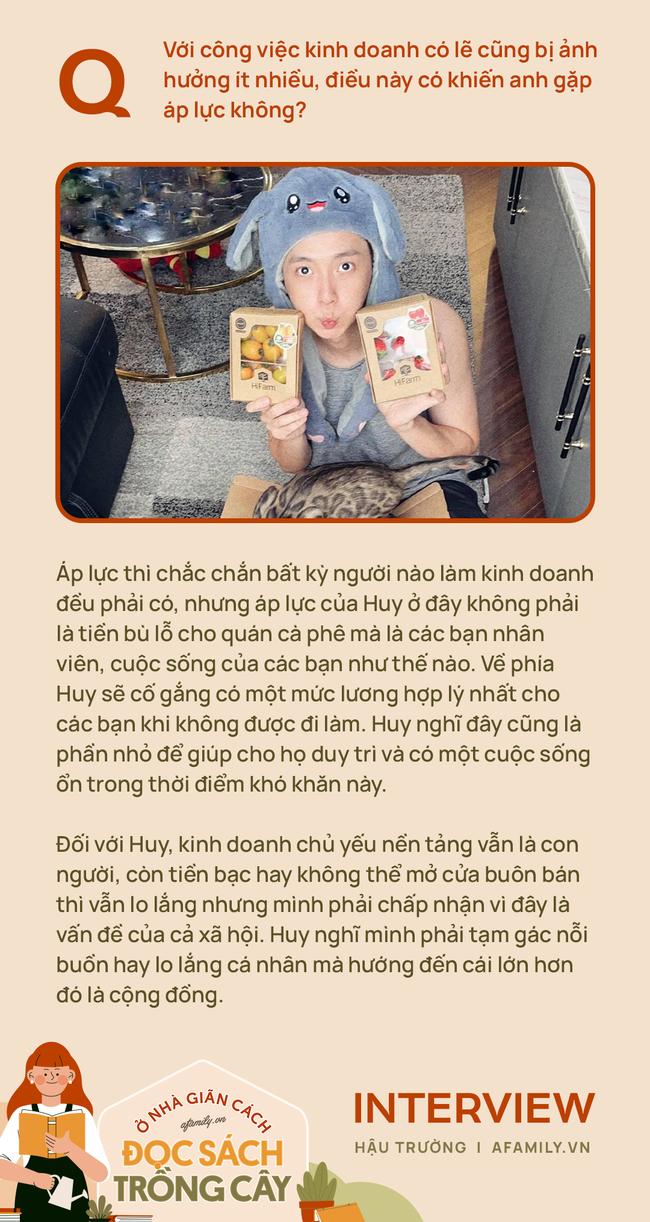 """Cuộc sống mùa dịch của """"chàng độc thân"""" Ngô Kiến Huy: Dùng việc nhà để xả stress, đảm đang không kém chị em - Ảnh 5."""