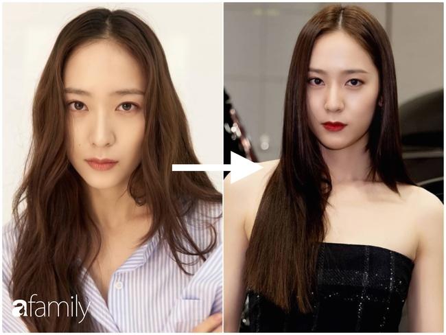 kiểu tóc cho mặt dài, tóc xoăn, Rosé, Black Pink, Jessica Jung, Krystal, kiểu tóc khắc phục nhược điểm