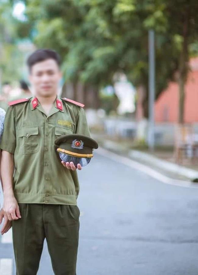 Một chiến sĩ công an hi sinh khi đang làm nhiệm vụ chống dịch vì tai nạn giao thông - Ảnh 1.