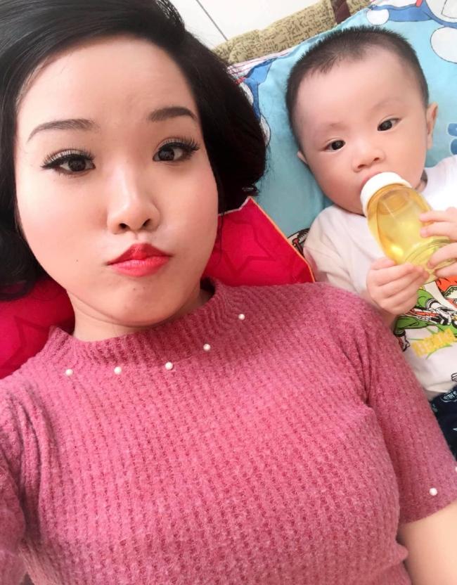 Từng không muốn nhìn mặt con, Á hậu điện ảnh Ruby Nhi kể chuyện trầm cảm sau sinh và nỗi lòng người mẹ với khao khát đứng trước ống kính - Ảnh 3.