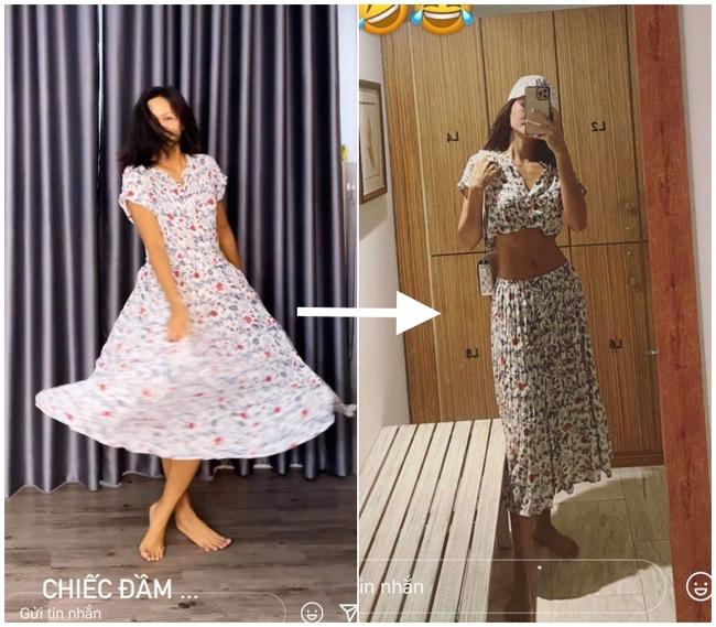 """Hoa hậu H'Hen Niê biến chiếc quần 80k của mẹ thành bộ đầm sexy siêu sang: Từ nay hãy gọi Top 5 Miss Universe là """"siêu sao tái chế"""" - Ảnh 5."""