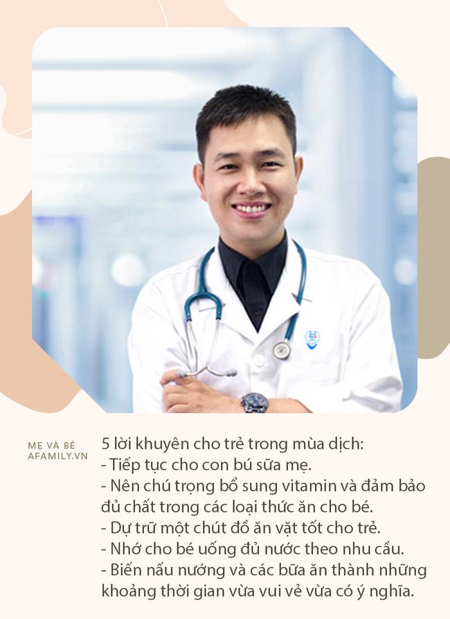 Bác sĩ Nhi khoa Hoàng Quốc Tưởng đưa ra 5 lời khuyên dinh dưỡng cho trẻ trong mùa dịch   - Ảnh 2.