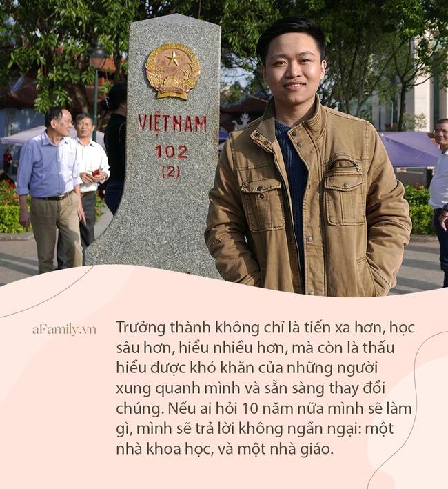 """Chàng trai Nam Định lọt top 50 học sinh xuất sắc toàn cầu năm 2021: Từ phòng trọ cũ 24m2 đến loạt thành tích xứng danh """"con nhà người ta""""  - Ảnh 3."""