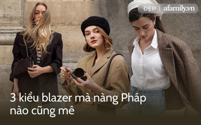 Bao nhiêu mùa thu qua, gái Pháp cũng chỉ mê 3 kiểu blazer cổ điển này - Ảnh 1.