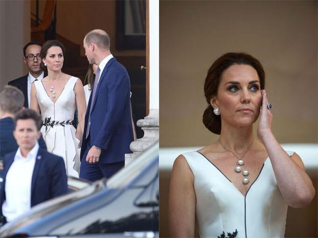 5 lần Công nương Kate mất bình tĩnh trước công chúng: Cau có với chồng và dạy dỗ con trai George - Ảnh 3.