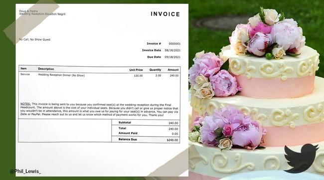 """Quá tổn thương vì 1/3 khách mời không đến đám cưới sang trọng, cô dâu chú rể đăng đàn công khai """"đòi tiền"""", những câu chữ in trên """"giấy nợ"""" mới đáng nói! - Ảnh 1."""