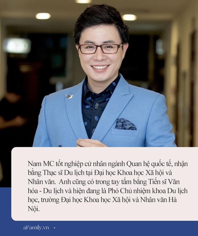 MC Lê Anh đang dính phốt chế nhạo sinh viên: Từng đoạt giải Nam sinh Thanh lịch, học vấn khủng từ thời THPT đến đại học! - Ảnh 2.