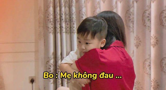 """Rụng tim với loạt câu nói """"như ông cụ non"""" của con trai Hòa Minzy, fan trêu Bo thúi nghiện mẹ đến thế là cùng! - Ảnh 7."""